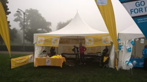 Marie Curie Tent